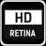 Najlepsza dla wyświetlaczy HD i Retina™